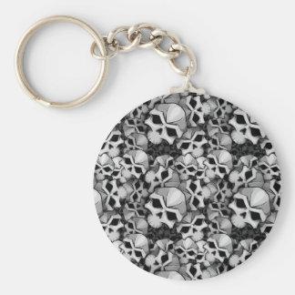 """Bones"" keychain by DinPattern"