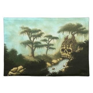 bones of giants fantasy landscape placemat