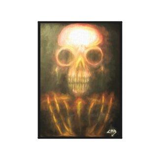 Bones of the Ancients III Canvas Print