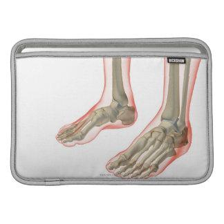Bones of the Feet MacBook Sleeve