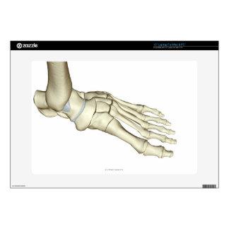 "Bones of the Foot 2 15"" Laptop Decal"