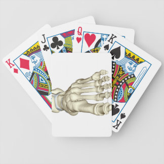 Bones of the Foot 8 Bicycle Playing Cards