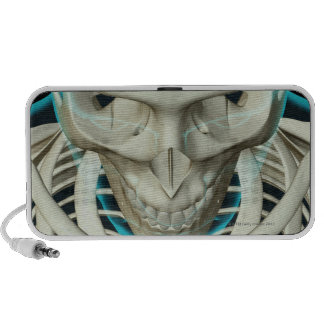 Bones of the Head and Face Portable Speakers