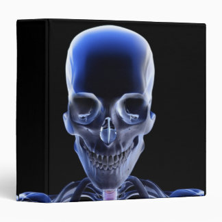 Bones of the Head and Neck 9 3 Ring Binder