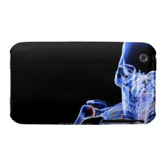 Bones of the Head iPhone 3 Cover