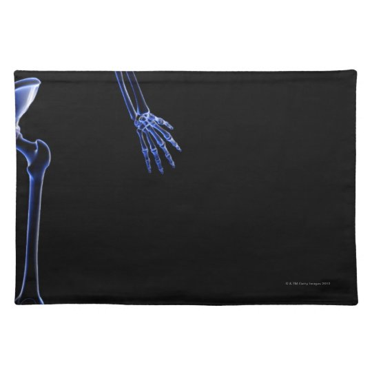 Bones of the Hip Cloth Placemat