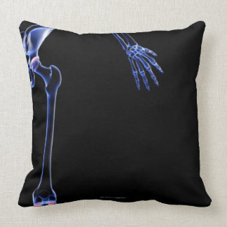 Bones of the Hip Throw Pillows