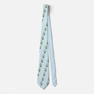 Bones of the Human Hand Neck Tie