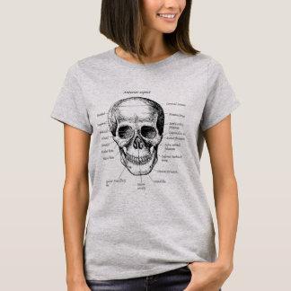 Bones of the Human Skull T-Shirt