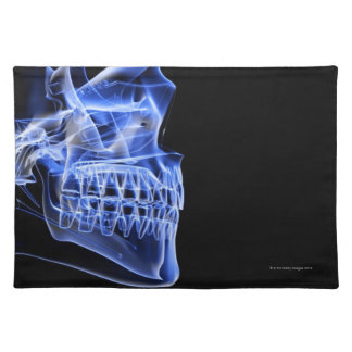 Bones of the Jaw Cloth Placemat