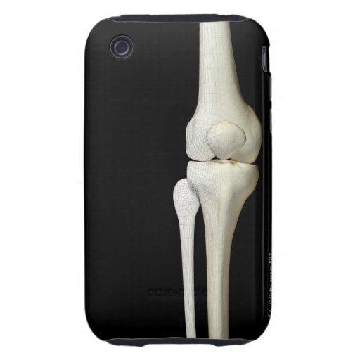 Bones of the Knee 4 iPhone 3 Tough Case