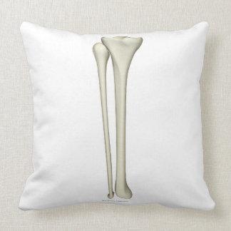 Bones of the Leg 2 Throw Pillow