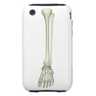 Bones of the Leg Tough iPhone 3 Case