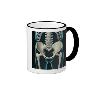 Bones of the Lower Body Coffee Mug