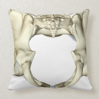 Bones of the Pelvis 4 Throw Pillow
