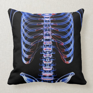 Bones of the Trunk 2 Throw Pillows
