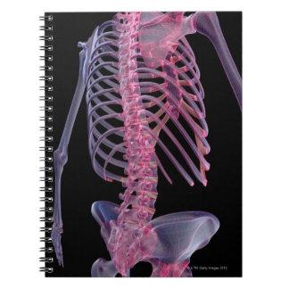 Bones of the Trunk Spiral Notebook