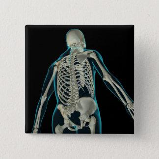Bones of the Upper Body 8 Button