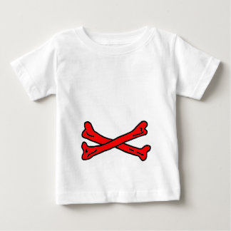 Bones Red The MUSEUM Zazzle Gifts Baby T-Shirt