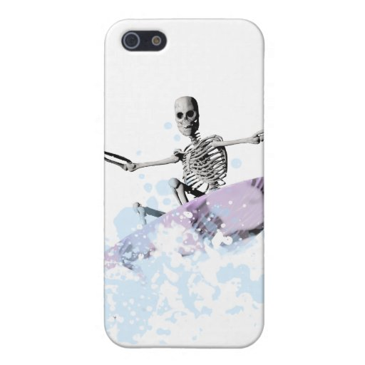 Bones surfing the curl cover for iPhone 5