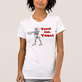 Bones (Trick Or Treat) Ladies Baby Doll T-Shirt