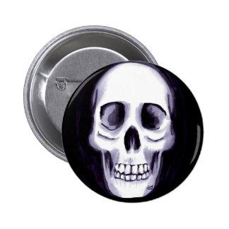 Bones V 2 Inch Round Button