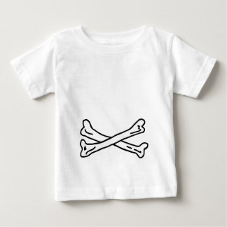 Bones White The MUSEUM Zazzle Gifts Baby T-Shirt