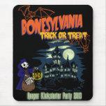 Bonesylvania Mouse Pad
