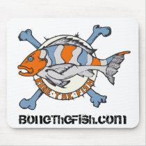 Bonethefish.com - Mouse Pad
