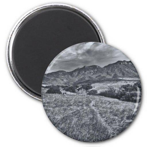 Boney Mountain Fridge Magnet