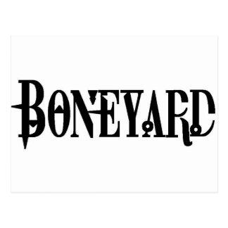 Boneyard - Logo Postcard