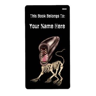 Boneyard Mutt (Bookplate) Personalized Shipping Label