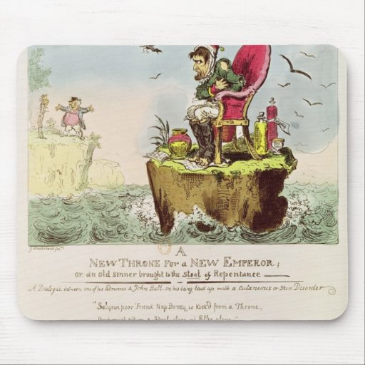 Boney's Elba Chair, published by S. Knight Mouse Pad