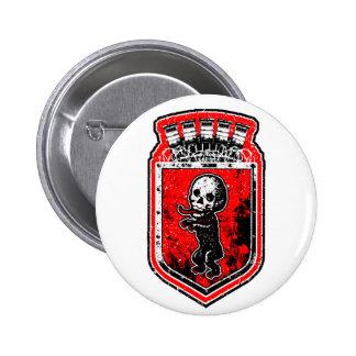 Bonez Bear Pinback Button