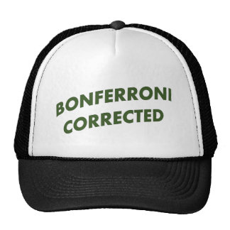 Bonferroni Corrected Mesh Hat