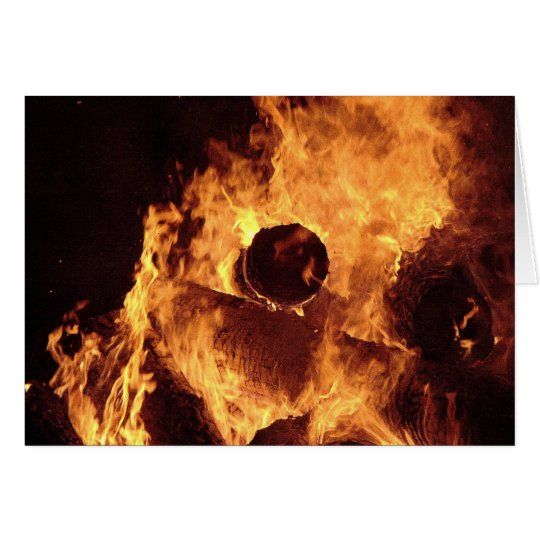 Bonfire #2 card