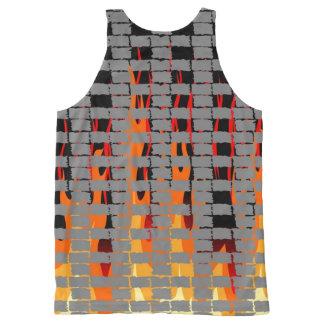 Bonfire All-Over Print Tank Top