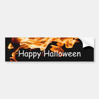 Bonfire Bumper Sticker