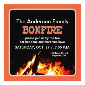 Bonfire Card