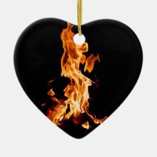 Bonfire Ceramic Ornament