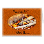 Bonfire cookout Birthday or any occasion Greeting Cards