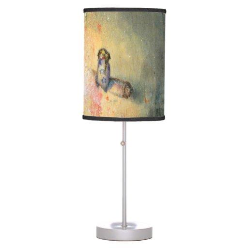 Bonfire -custom illustrated lamp