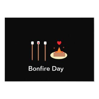 Bonfire Day 5x7 Paper Invitation Card