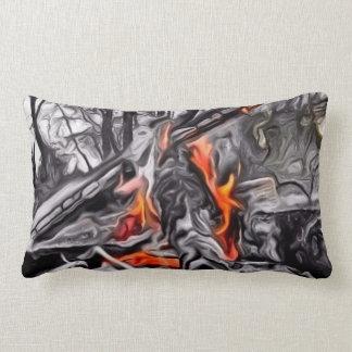 Bonfire Glow Lumbar Pillow