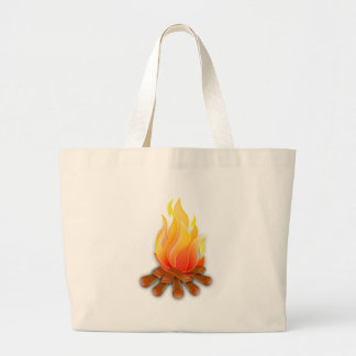 Bonfire Large Tote Bag