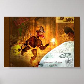 'Bonfire Night' History POSTER options