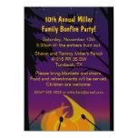 Bonfire Outdoor Party Invitation