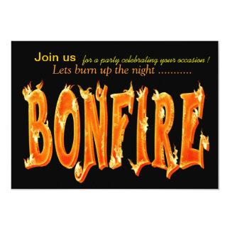 bonfire party invitations - Bonfire Party Invitations