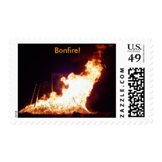 Bonfire! Postage Stamp