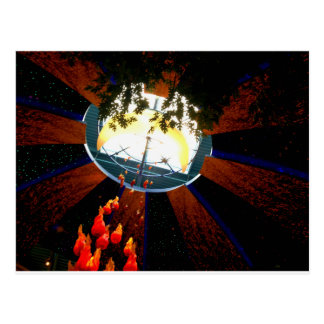 Bonfire Skylight Postcard
